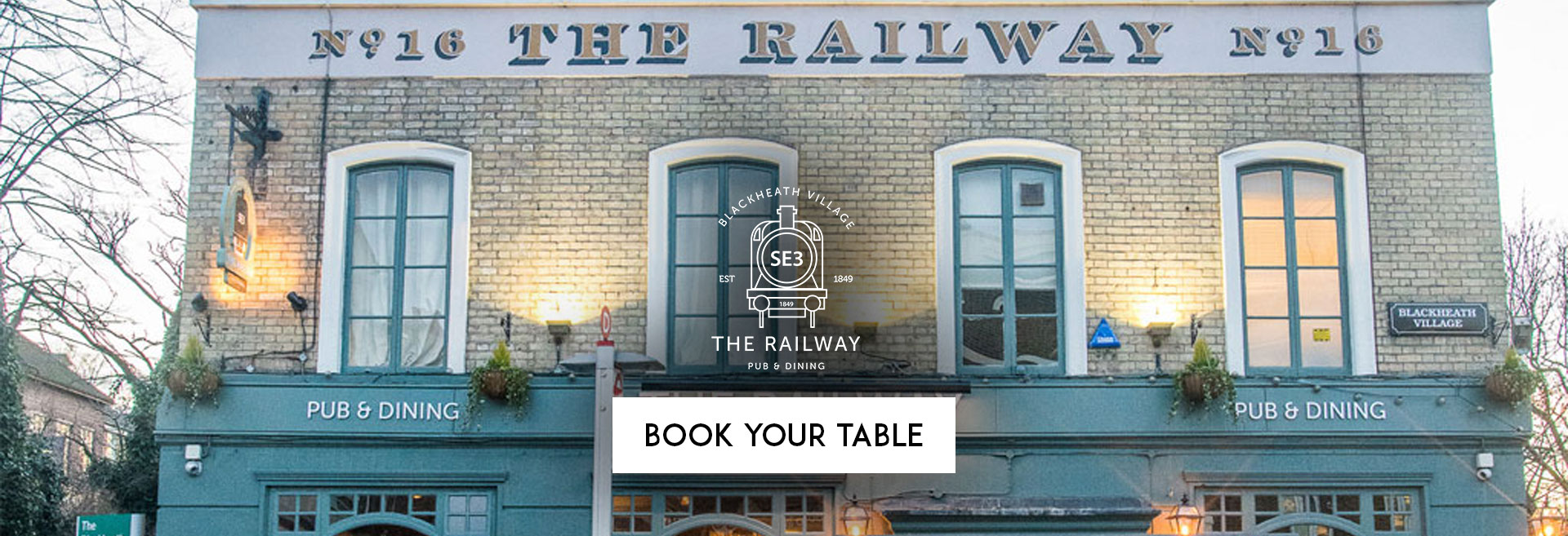 Book Your Table at The Railway